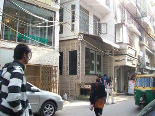 Hauz Khas Village street