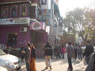 Hauz Khas Village street 2