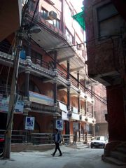 Hauz Khas Village buildings